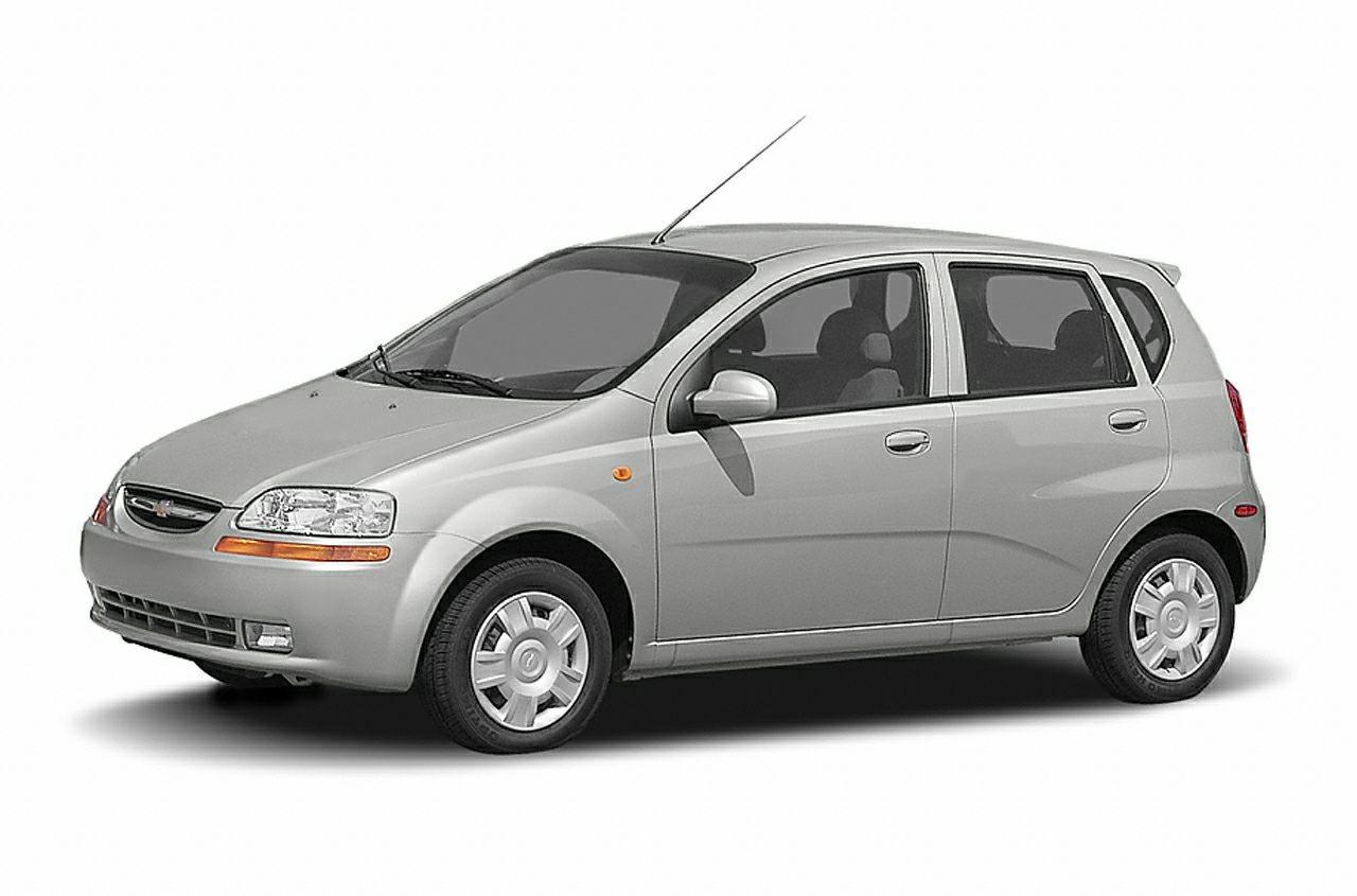 2004 Chevrolet Aveo Base Red Clean CARFAX Odometer is 29015 miles below market average 2004 Chev