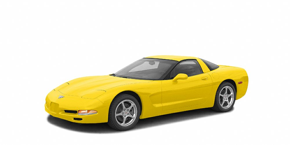 2004 Chevrolet Corvette Base Miles 148199Color Yellow Stock 217329A VIN 1G1YY22G845131180