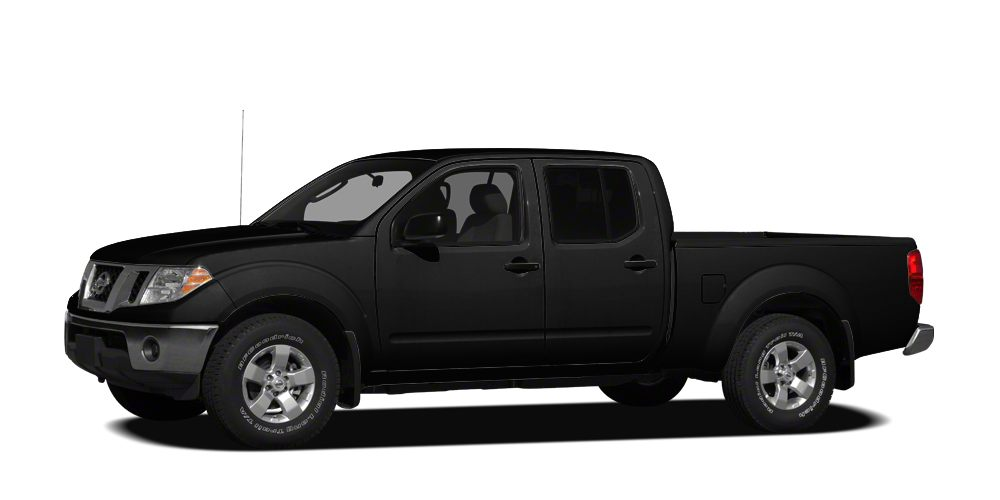 2012 Nissan Frontier SV 2012 Nissan Frontier SV Black with grey cloth Bluetooth 4x4 crew cab Lon