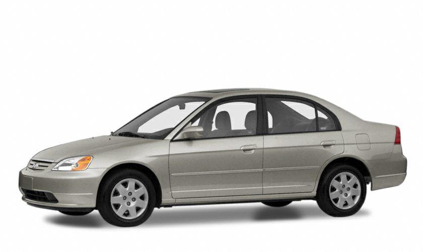 2001 Honda Civic EX Color Gray Stock F17R203A VIN 1HGES26701L032674