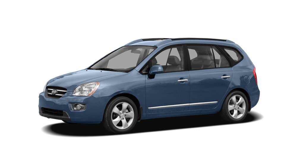 2008 Kia Rondo  Miles 113040Color Blue Stock K8398B VIN KNAFG526287156450