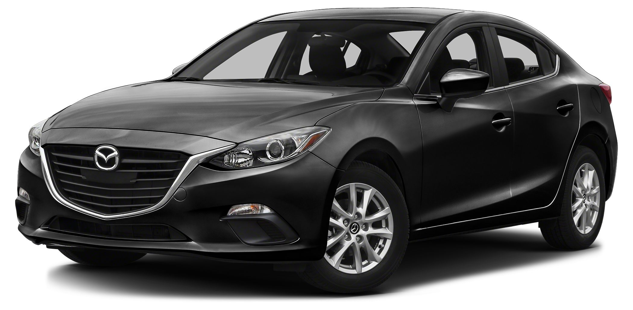 2014 Mazda MAZDA3 i Touring Touring Edition - Sunroof - Jet Black Mica on Black interior with Blue