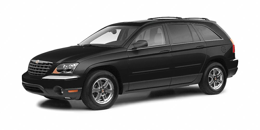 2005 Chrysler Pacifica Touring Miles 138259Color Brilliant Black Crystal Clearcoat Stock R4524