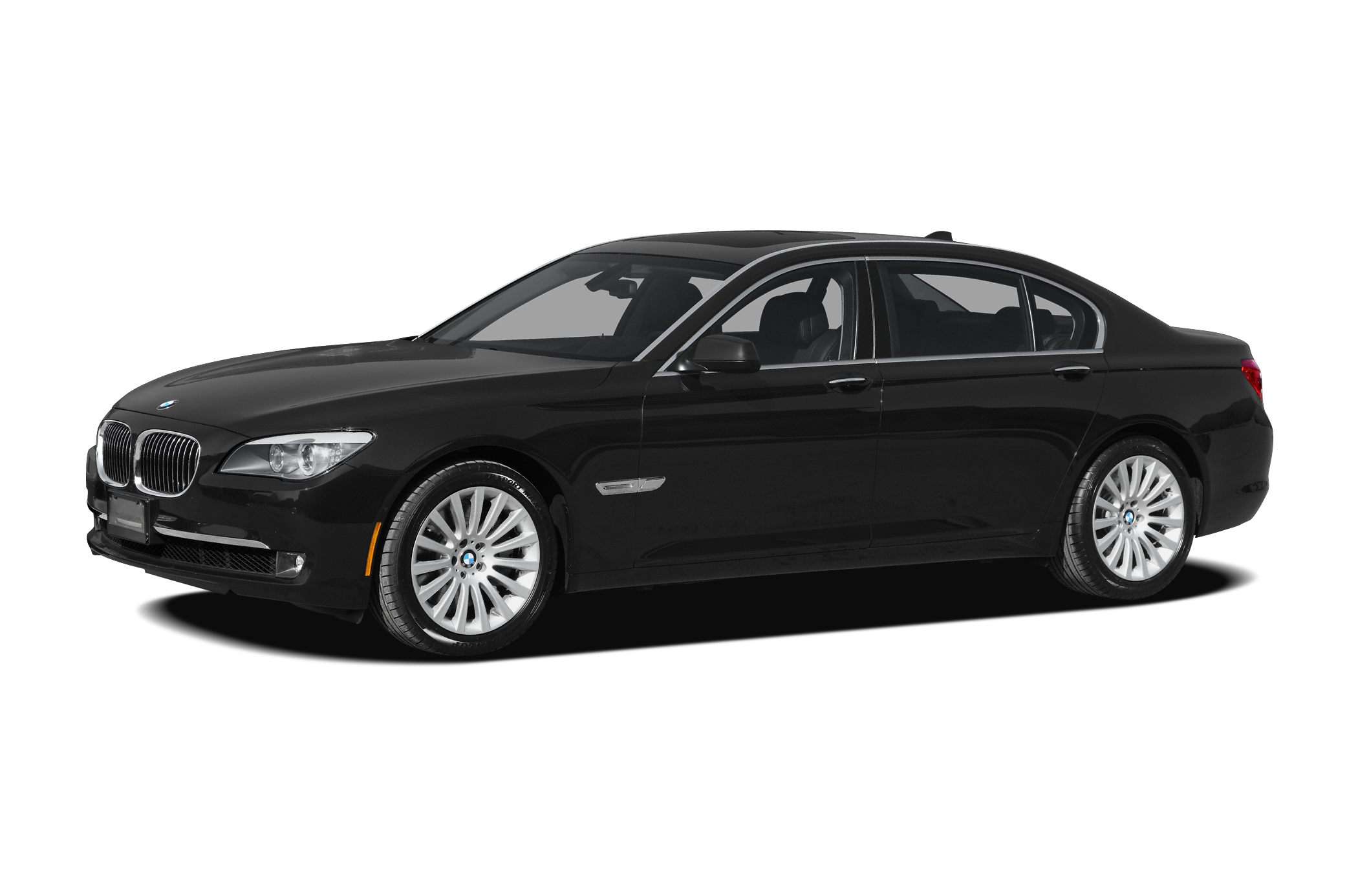 2011 BMW 7 Series 750Li LONG BODY BLACK ON BLACK Premium Sound Sport package Heated seats Lux
