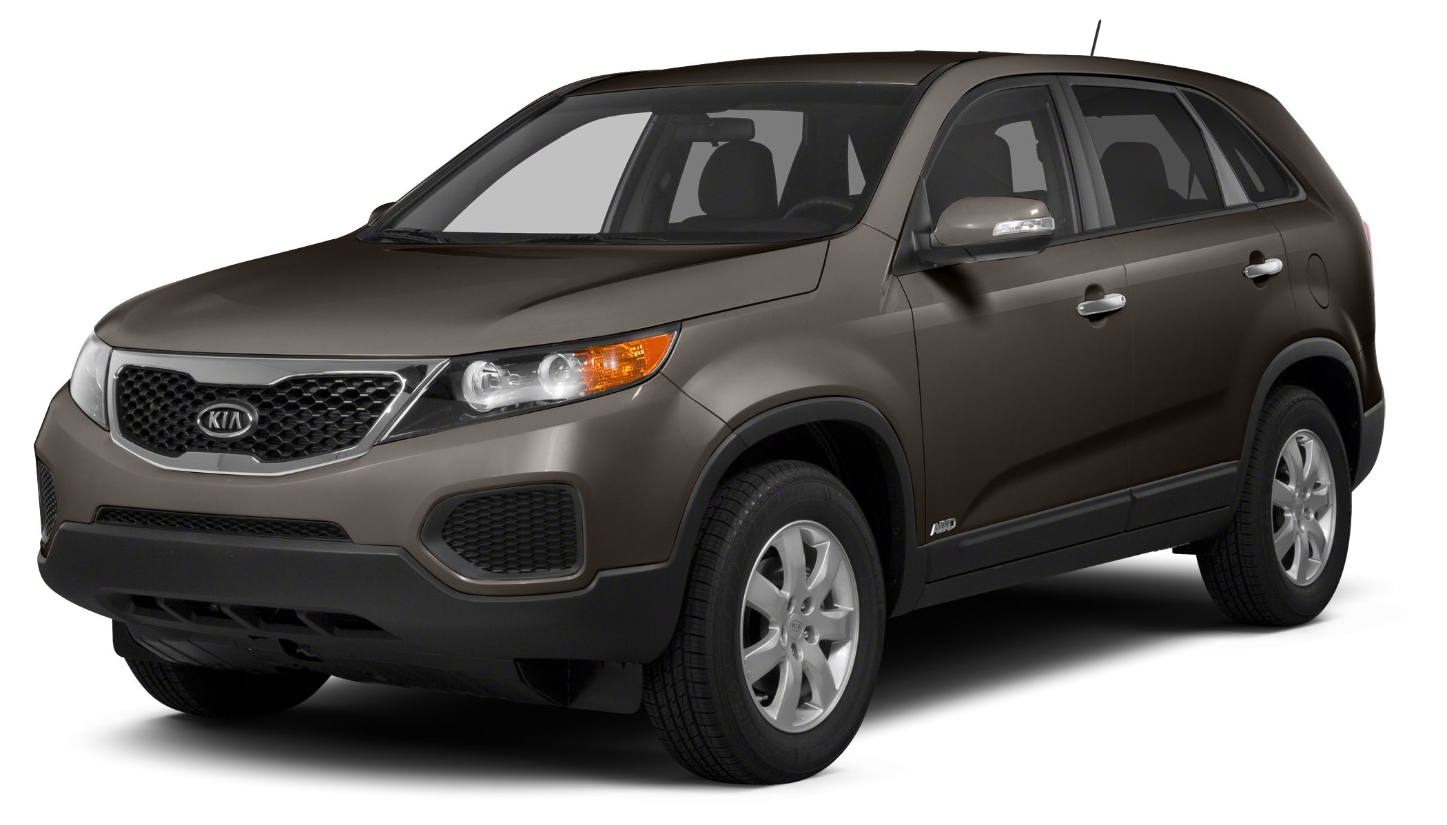 2011 Kia Sorento EX Miles 80220Color Brown Stock 18838 VIN 5XYKU4A26BG101237