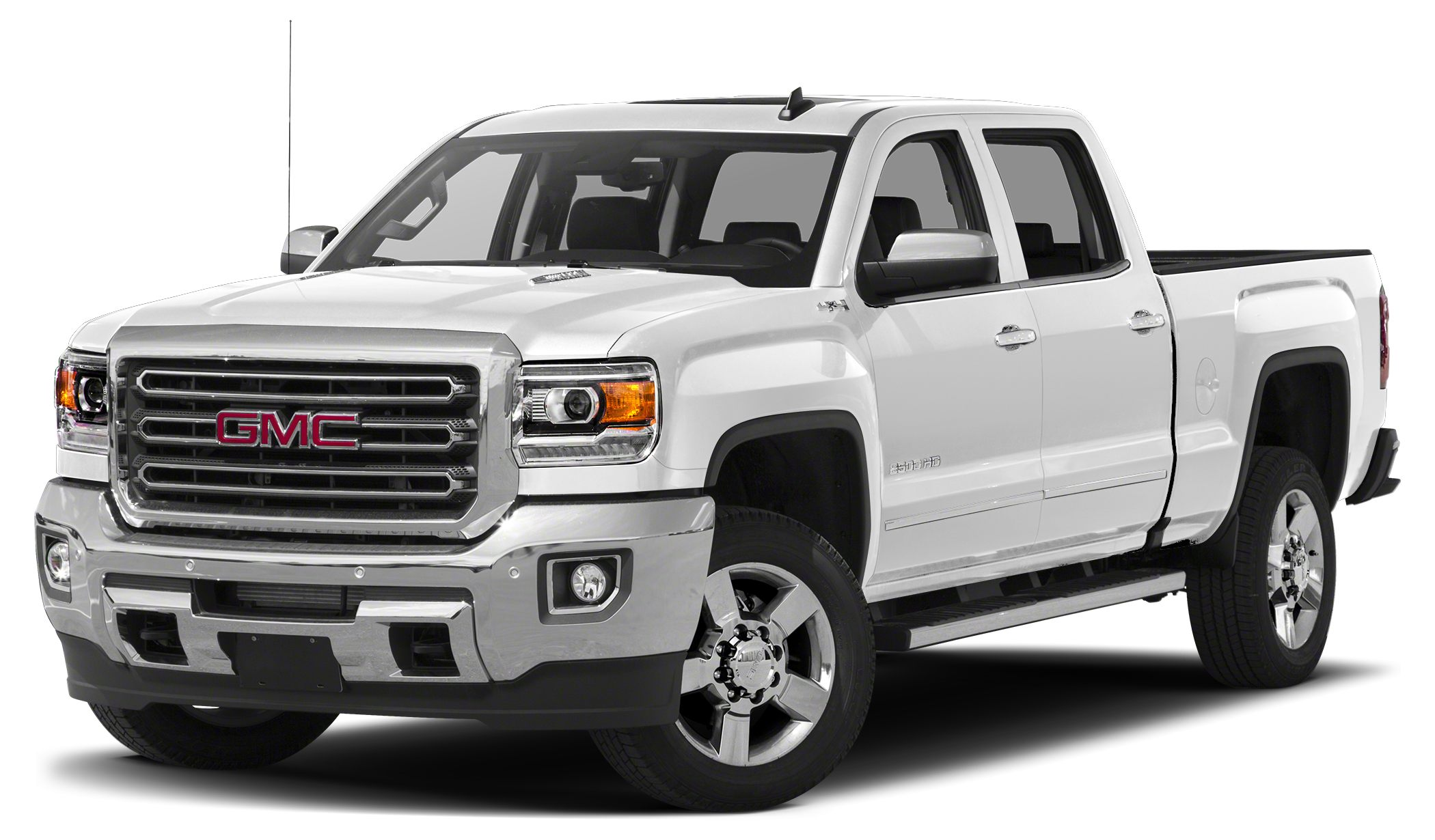 2015 GMC Sierra 2500HD SLT NAV Heated Leather Seats SEATS HEATED AND COOLED PERFORATED LEATHER-