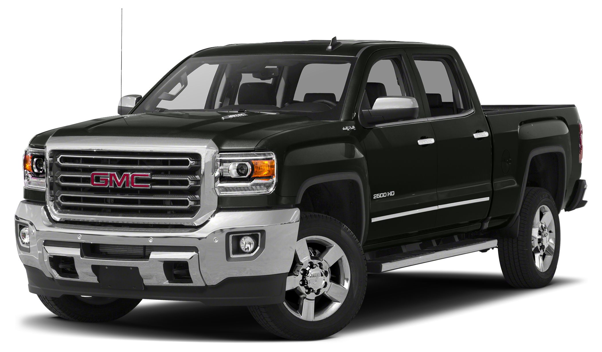 2018 GMC Sierra 2500HD SLT  REMAINDER OF FACTORY WARRANTY ACCIDENT FREE AUTOCHECKALL-TER