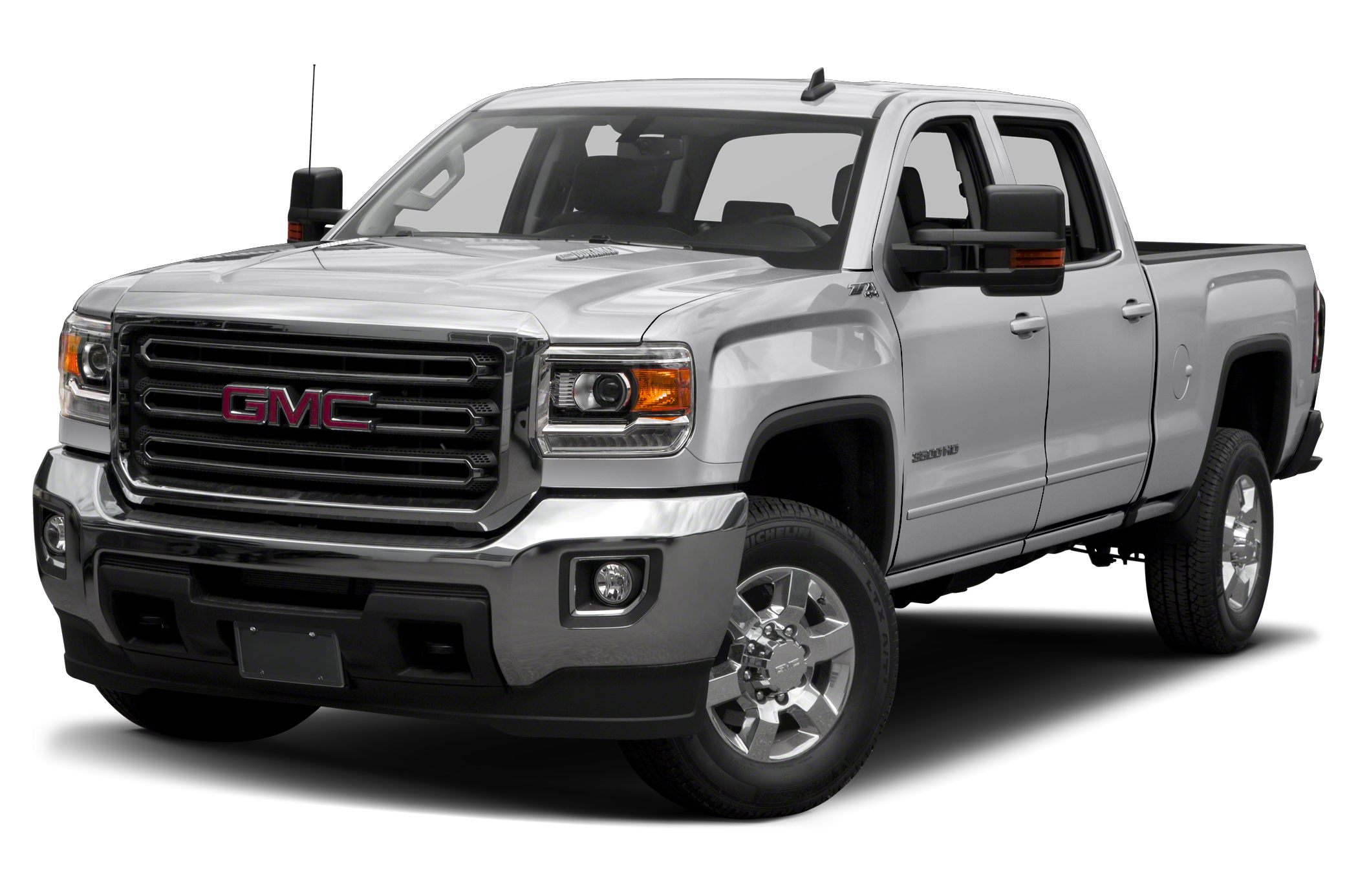2016 GMC Sierra 3500HD SLE Allison 1000 6-Speed Automatic 4WD and Cloth Some things are too goo
