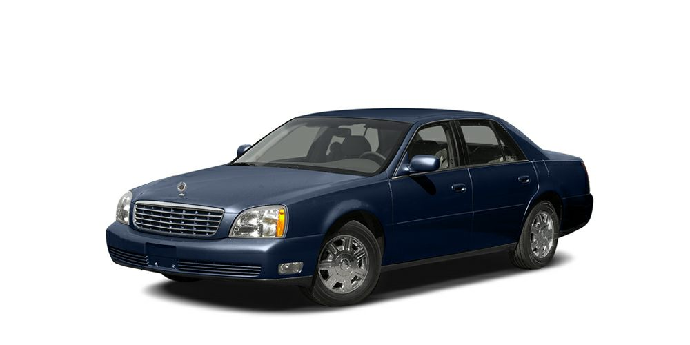 2005 Cadillac DeVille  2005 Cadillac Deville with 106k Dark blue exterior with a tan leather inte