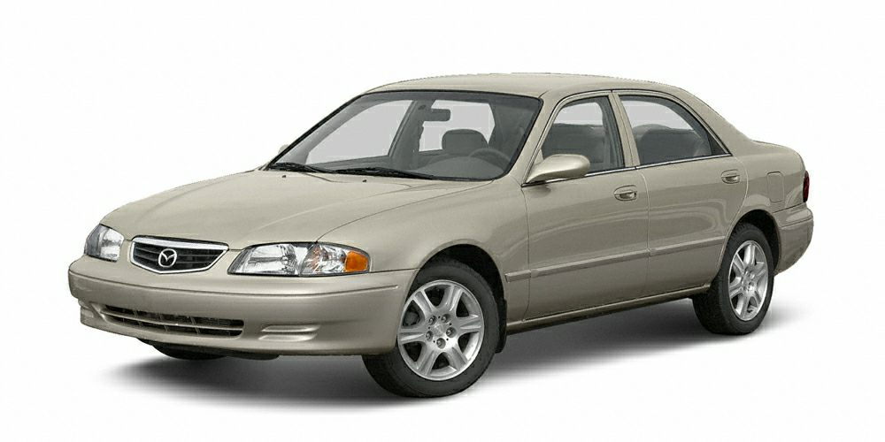 2002 Mazda 626 LX Come see this 2002 Mazda 626 LX It has a transmission and a Gas I4 20L122 eng