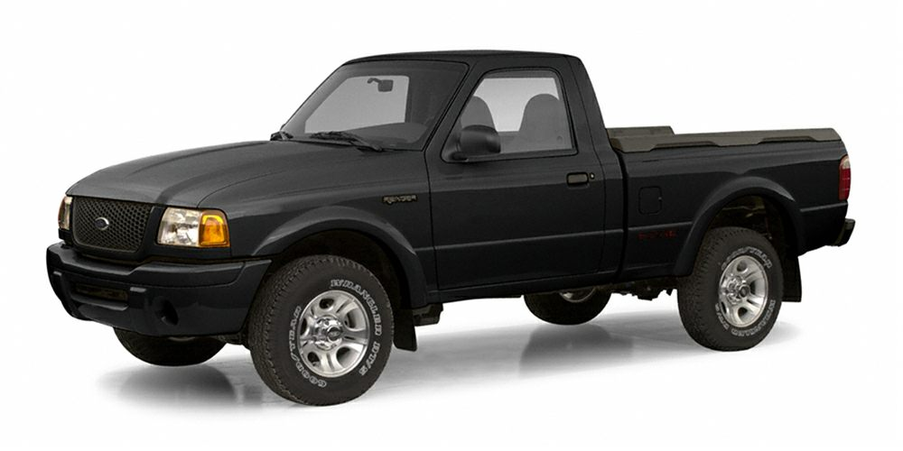 2002 Ford Ranger Edge Miles 189384Color Black Stock OSAA71800 VIN 1FTYR10U72TA71800