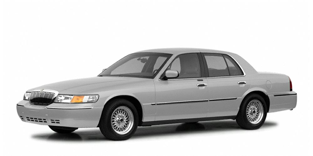 2002 Mercury Grand Marquis LS Miles 102935Color Silver Frost Clearcoat Metallic Stock F403727A