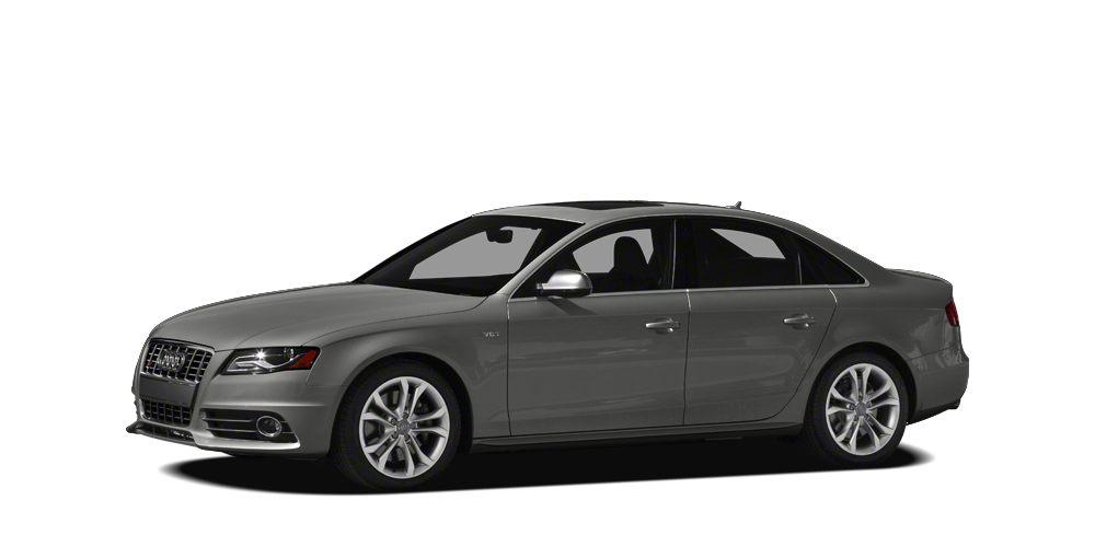 2012 Audi S4 30 quattro Premium Plus Excellent Condition Premium Plus trim Heated Leather Seats