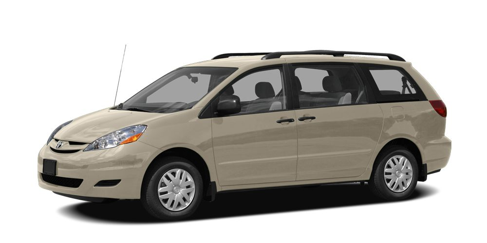 2007 Toyota Sienna CE CARFAX 1-Owner EPA 26 MPG Hwy19 MPG City CE trim Third Row Seat iPodMP