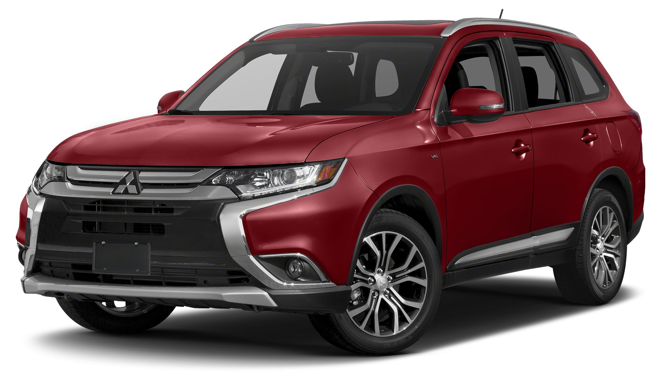 2016 Mitsubishi Outlander SEL Miles 0Color Rally Red Metallic Stock M16022 VIN JA4AD3A30GZ01