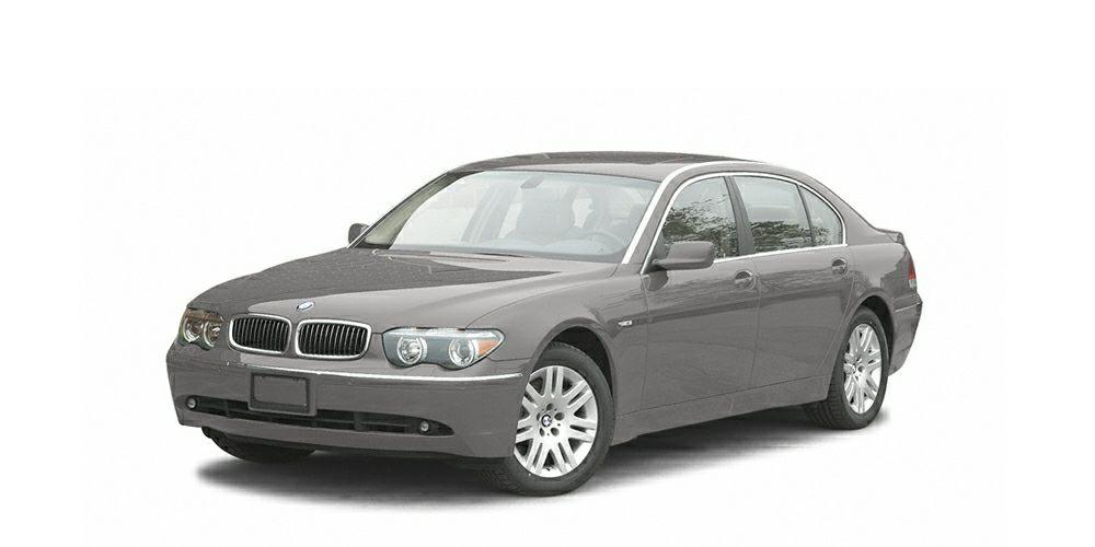 2005 BMW 7 Series 745i Miles 96890Color Sterling Gray Metallic Stock P76244 VIN WBAGL63585DP