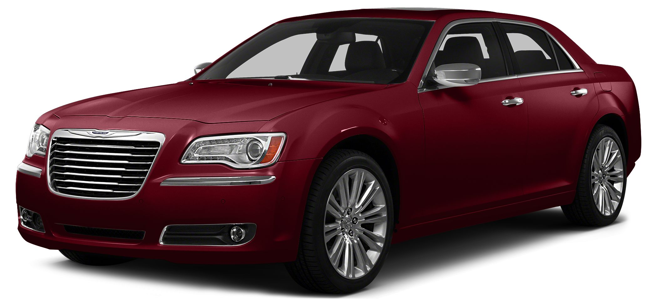 2014 Chrysler 300C Base Odometer is 23007 miles below market average Miles 55022Color Red Sto