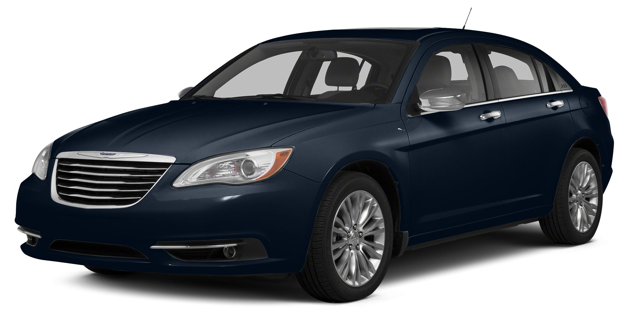2014 Chrysler 200 Touring Touring trim Crystal Blue Pearlcoat exterior CARFAX 1-Owner ONLY 101