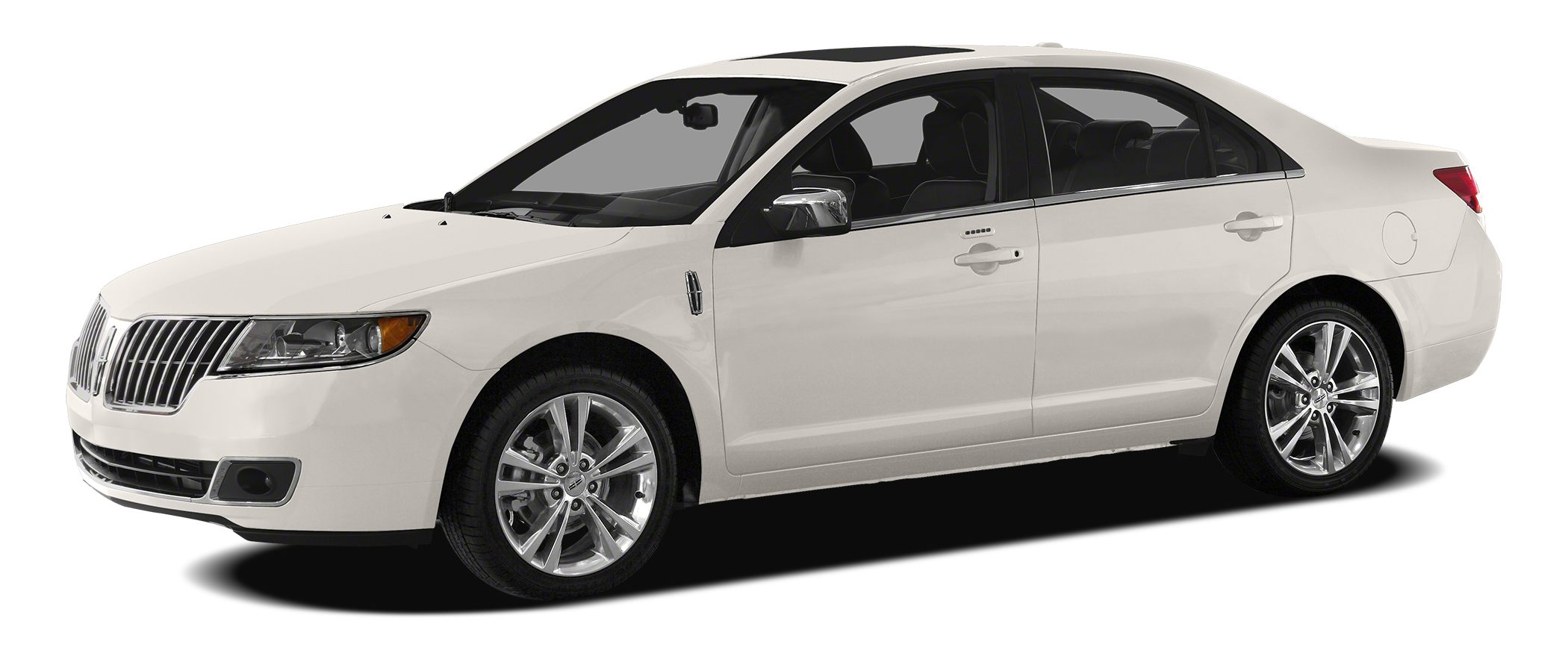 2011 Lincoln MKZ Base CARFAX One-Owner White Platinum Metallic Tri-Coat 2011 Lincoln MKZ FWD 6-Sp