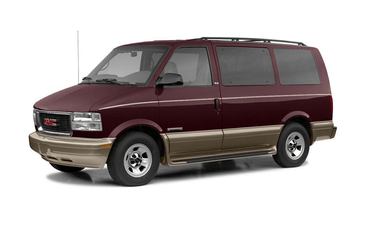 2004 GMC Safari Base Miles 111111Color White Stock FF502790 VIN 1GTDL19X94B502790