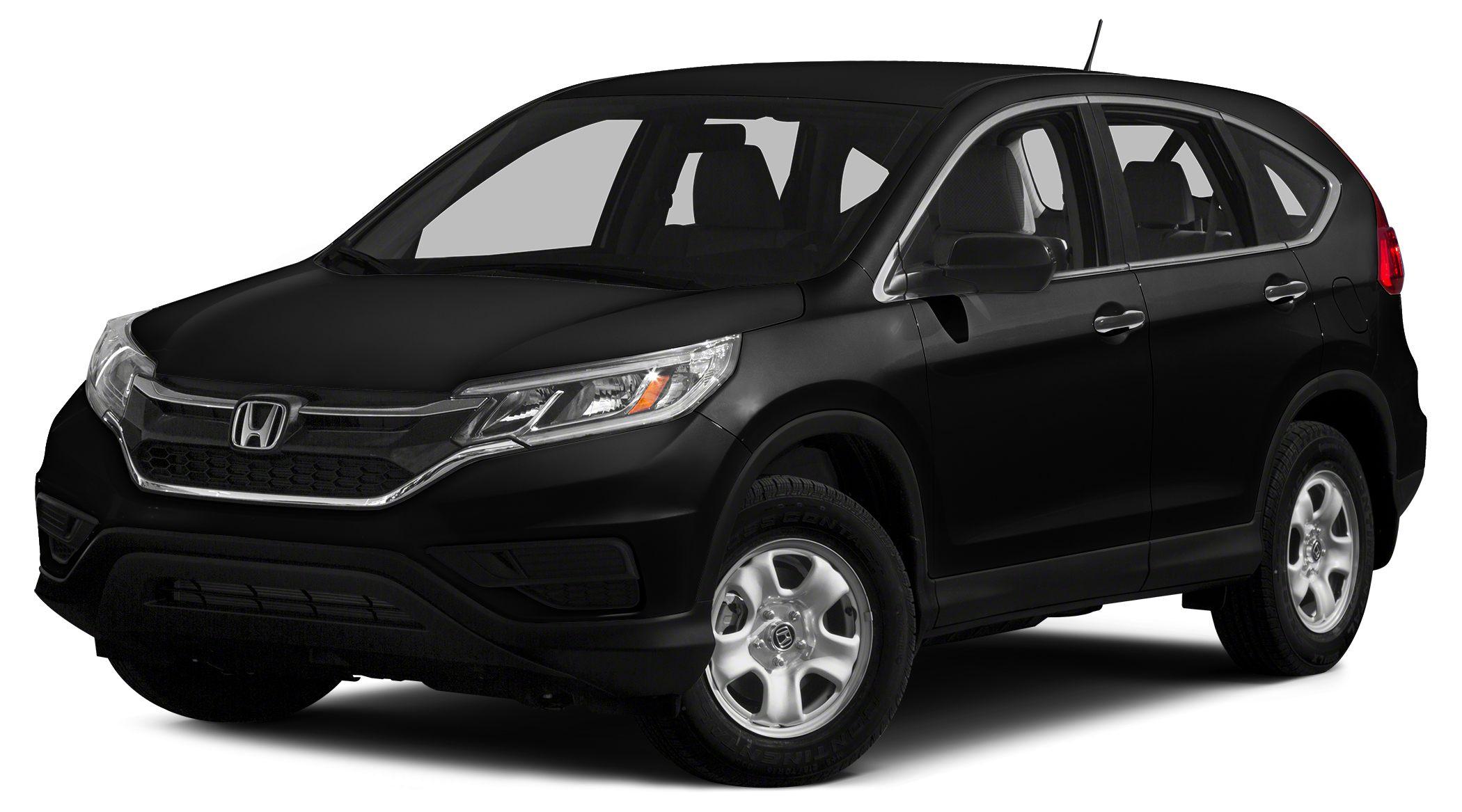 2015 Honda CR-V LX Miles 2490Color Black Stock H152277A VIN 3CZRM3H31FG705836