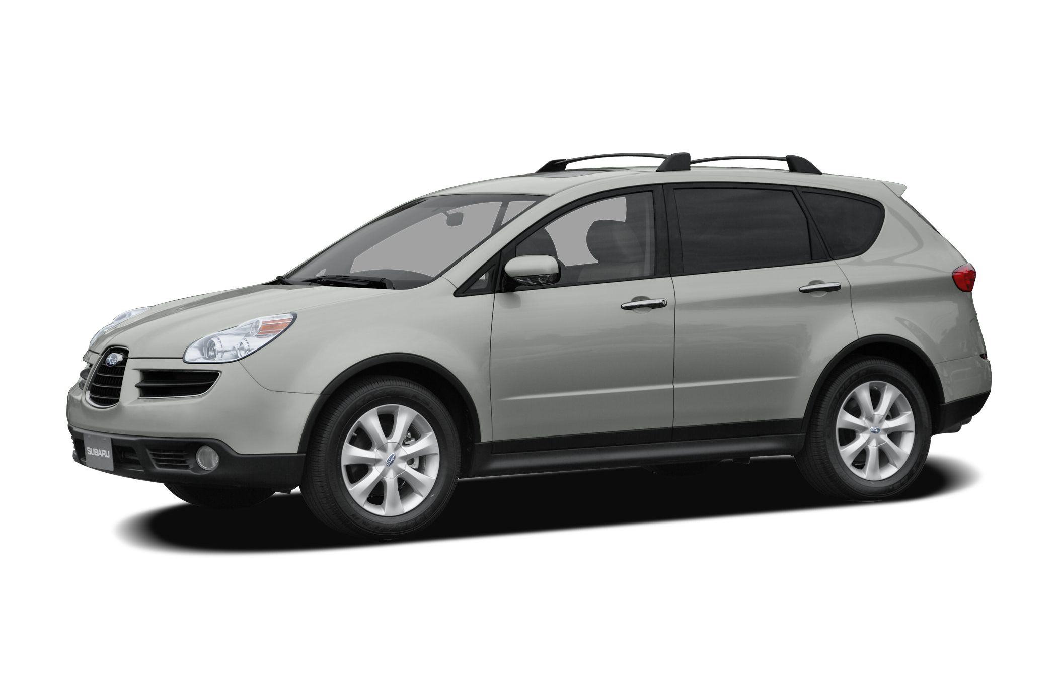 2007 Subaru B9 Tribeca Limited 5-Passenger Miles 39330Color Newport Blue Pearl Stock 18507 VI