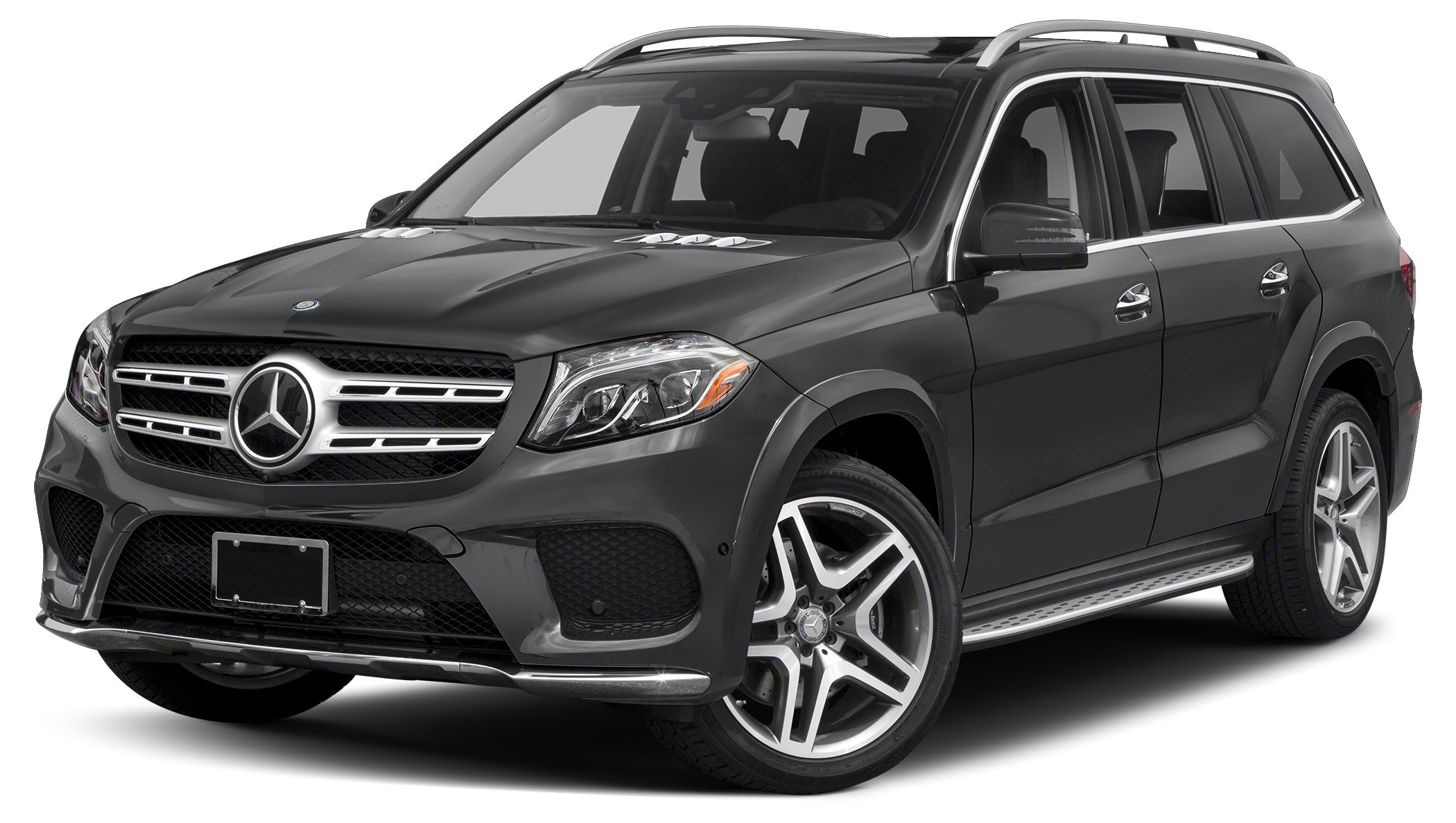 2017 MERCEDES GLS-Class GLS550 4MATIC Miles 5Color Obsidian Black Metallic Stock 768248 VIN