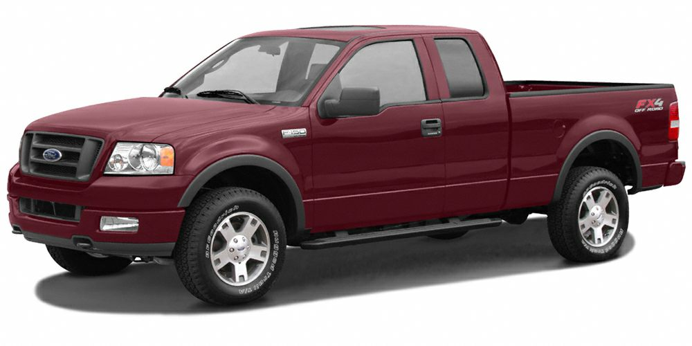 2006 Ford F-150 Lariat Very Nice GREAT MILES 19765 Dark Toreador Red Metallic exterior and Tan i