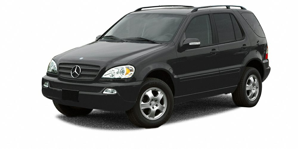 2003 MERCEDES M-Class ML350 4MATIC  WHEN ITCOMES TO EXCELLENCE IN USED CAR SALESYOU KNOW YOU