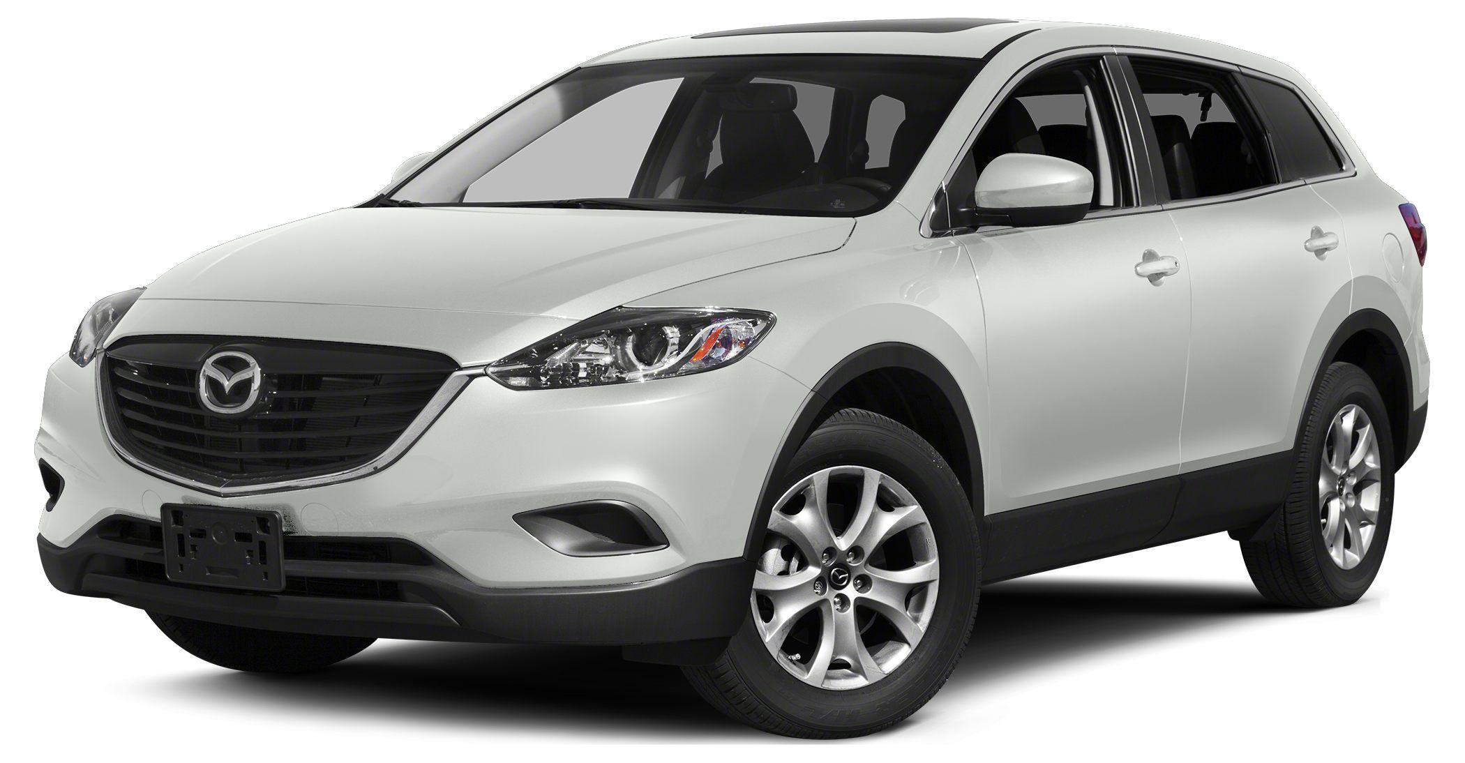 2015 Mazda CX-9 Grand Touring Miles 3Color Crystal White Pearl Mica Stock 15440 VIN JM3TB2DA