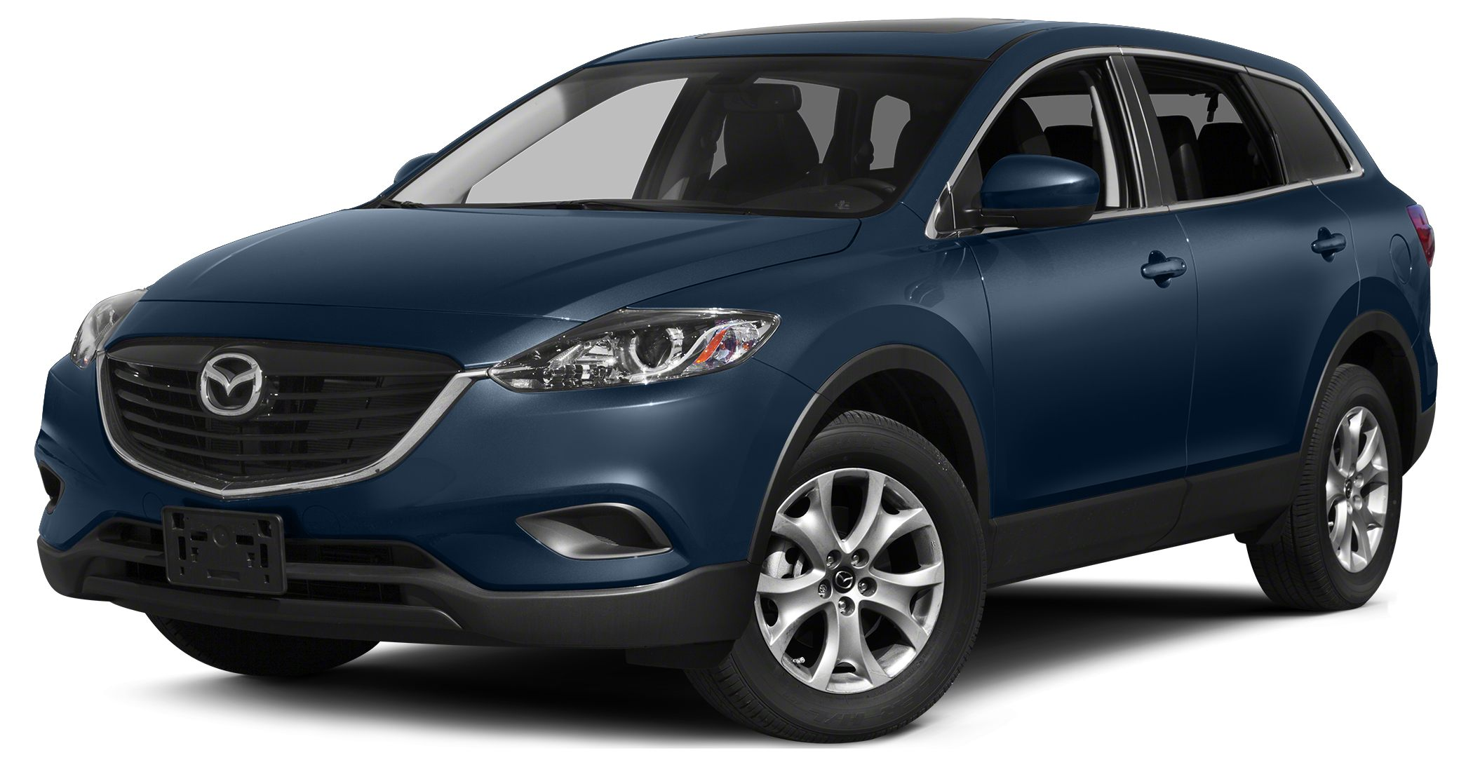 2015 Mazda CX-9 Touring Miles 3Color Blue Reflex Mica Stock 15442 VIN JM3TB2CA0F0465207