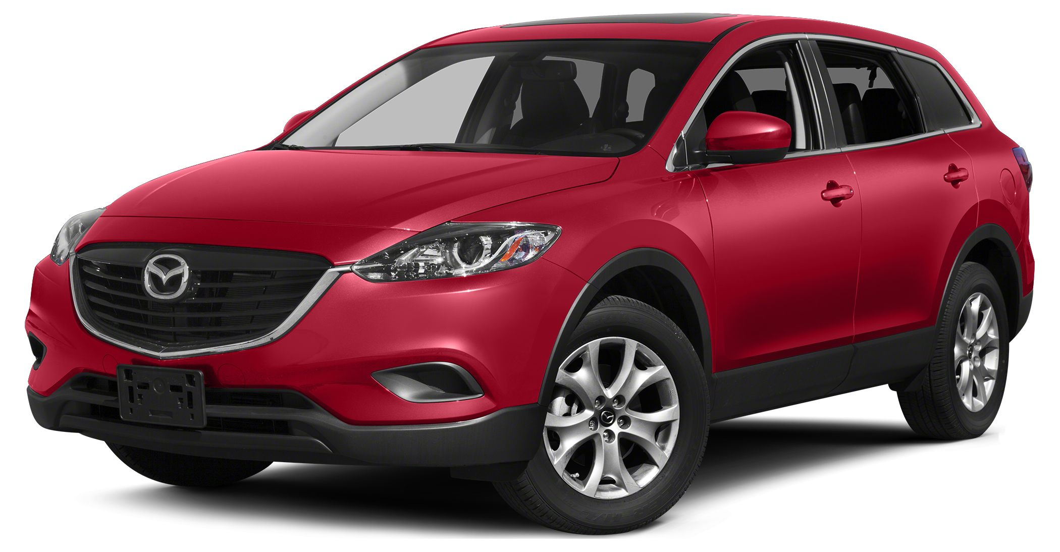 2015 Mazda CX-9 Touring Miles 3Color Zeal Red Stock 15439 VIN JM3TB2CA5F0462383