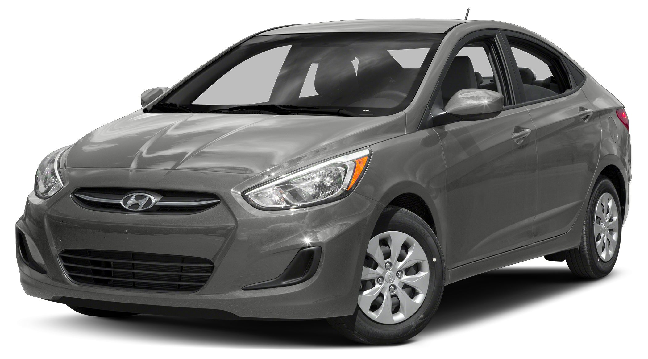 2016 Hyundai Accent SE 2016 Hyundai Accent SE in Silver and One Year Free Maintanence Gasoline R