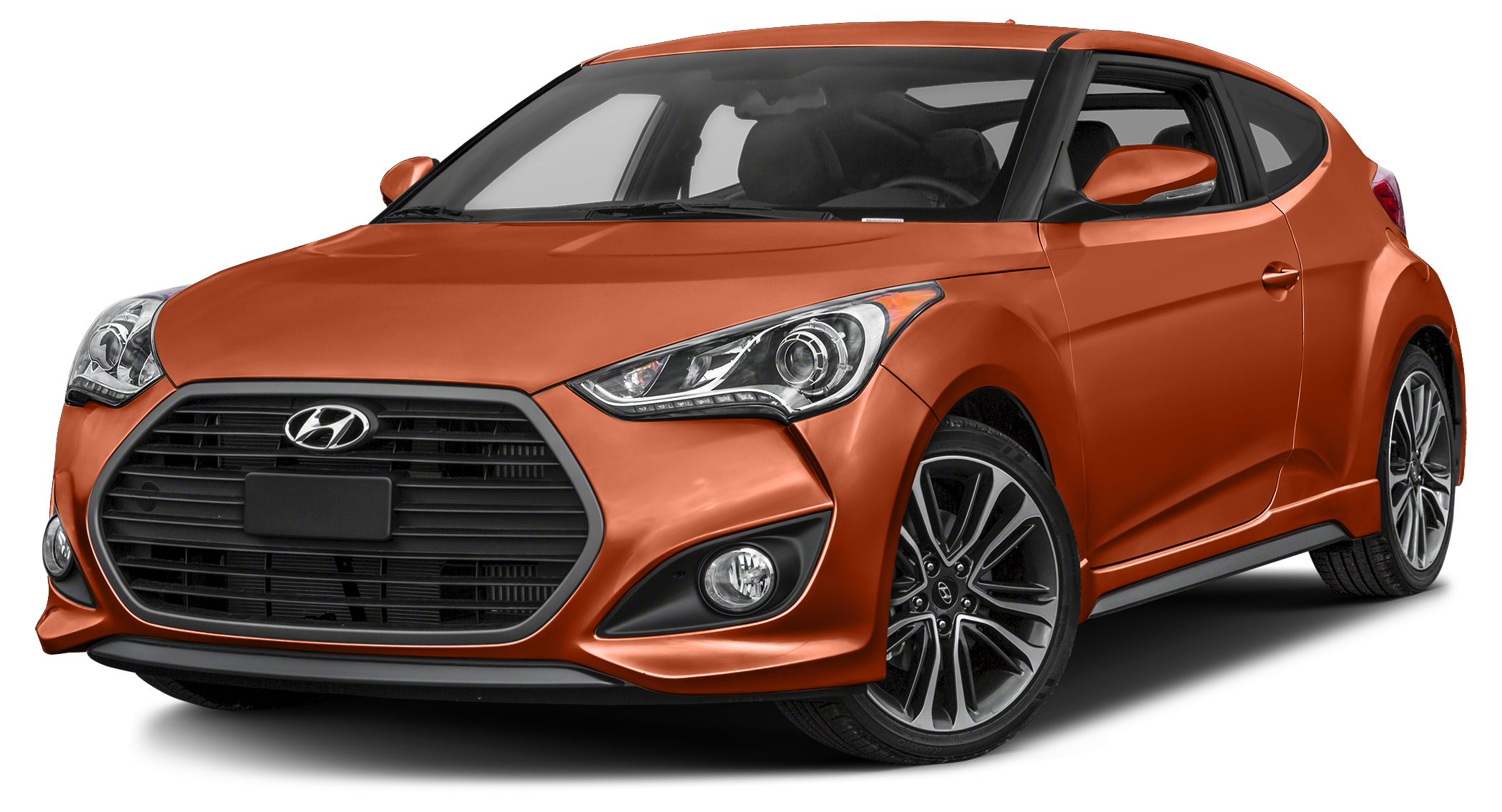 2016 Hyundai Veloster Turbo Turbocharged Stick shift How nice is this Just in this handsome-lo