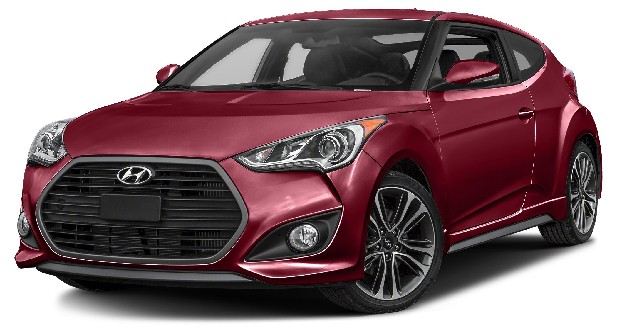 2016 Hyundai Veloster Turbo 2016 Hyundai Veloster Turbo in Red and Blue Tooth 18 x 75J Alloy wC