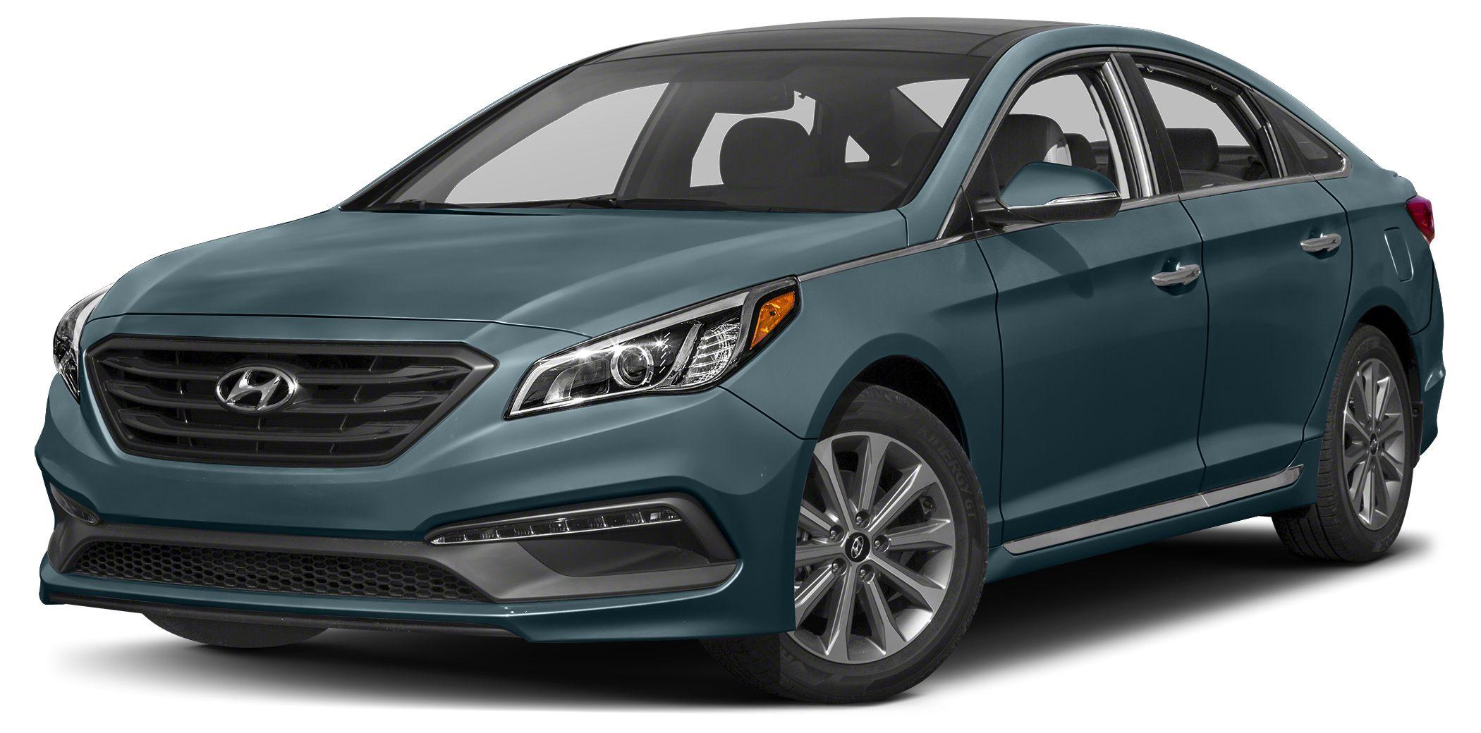 2016 Hyundai Sonata Limited Bluetooth Miles 11Color Nouveau Blue Stock 14640 VIN 5NPE34AFXG