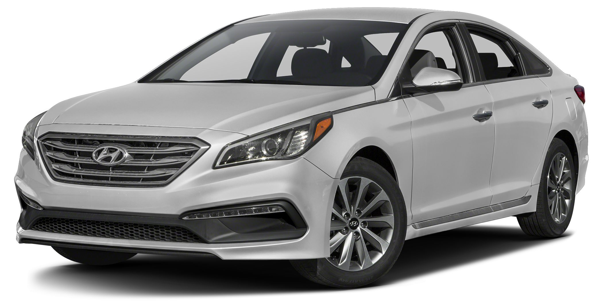 2016 Hyundai Sonata Sport Bluetooth Miles 32Color Symphony Silver Stock 14764 VIN 5NPE34AF0