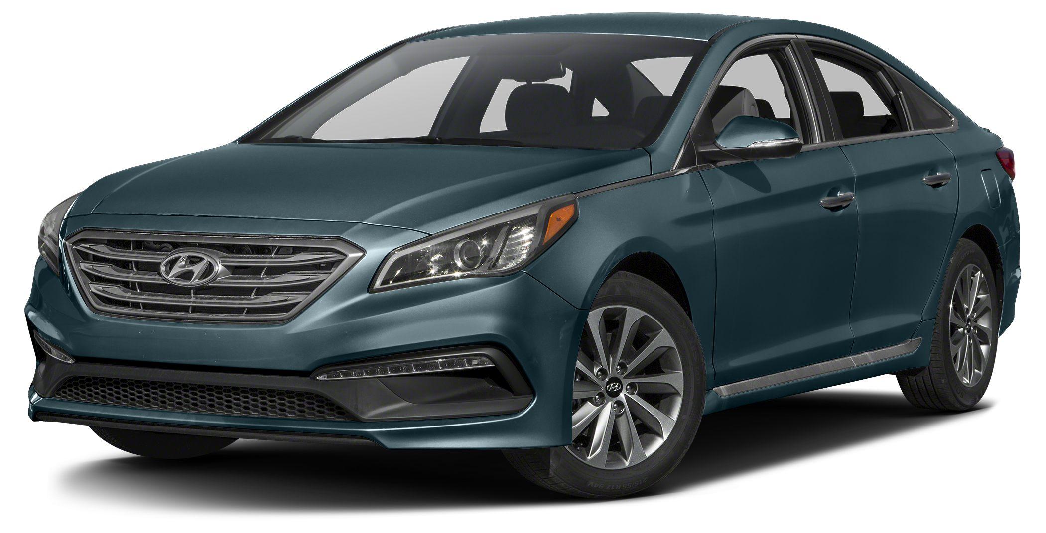 2017 Hyundai Sonata Sport Bluetooth Miles 10Color Nouveau Blue Stock 15344 VIN 5NPE34AF6HH5