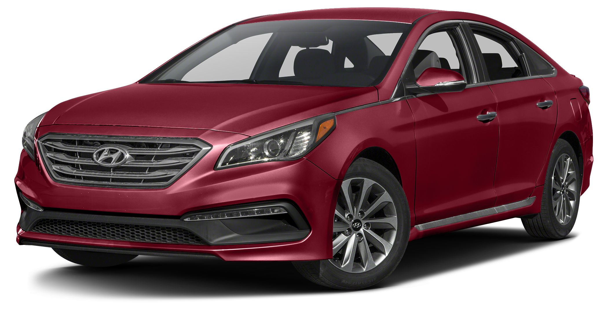 2015 Hyundai Sonata Sport 2015 Hyundai Sonata Sport in Red and One Year Free Maintanence Car buyi