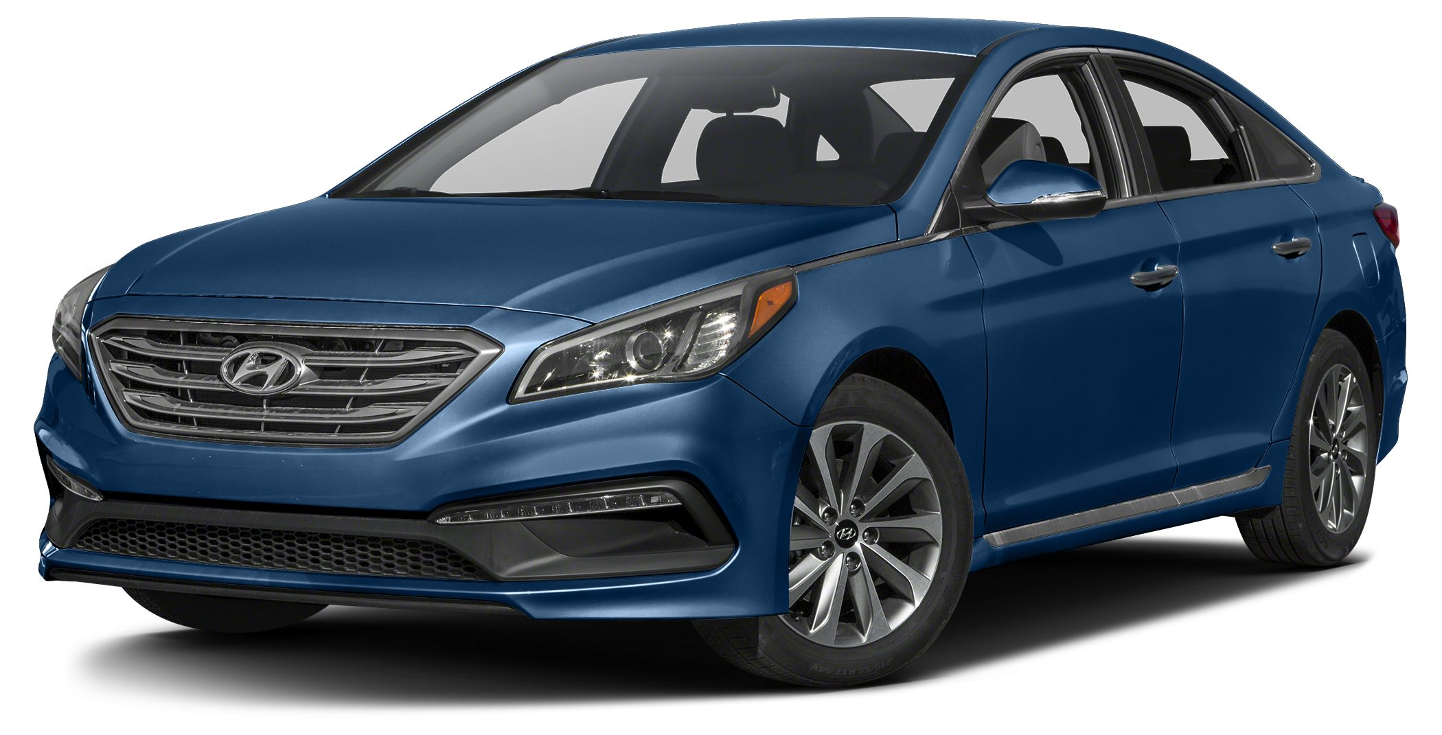 2017 Hyundai Sonata Sport Bluetooth Miles 10Color Lakeside Blue Stock 15312 VIN 5NPE34AF0HH