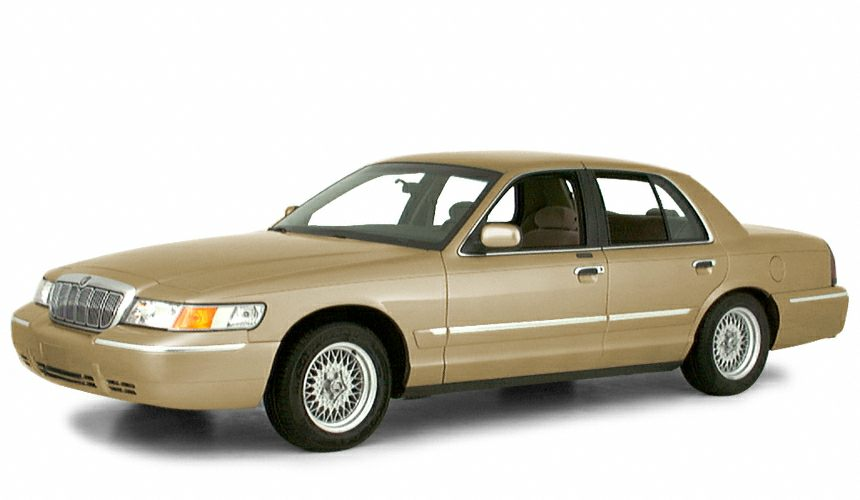 2000 Mercury Grand Marquis GS New Arrival This 2000 Mercury Grand Marquis GS will sell fast -Powe