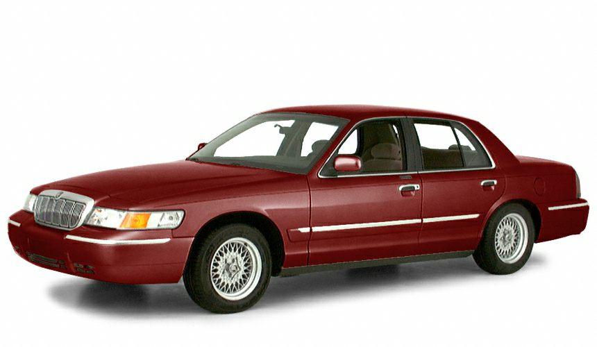 2000 Mercury Grand Marquis GS Miles 88179Color Red Stock P5516B VIN 2MEFM74W1YX698555