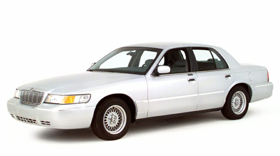 2000 Mercury Grand Marquis LS Air conditioning Miles 146466Color Red Stock S2290A VIN 2MEFM