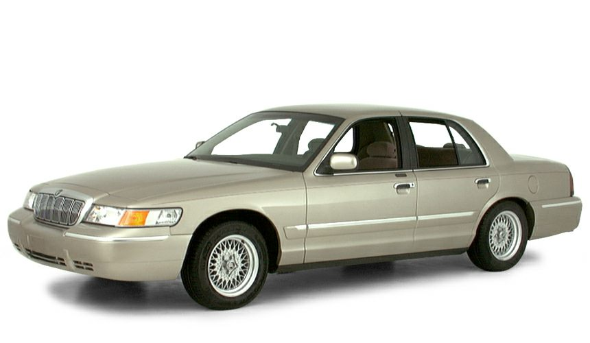 2000 Mercury Grand Marquis GS Miles 137098Stock YX641261 VIN 2MEFM74W7YX641261