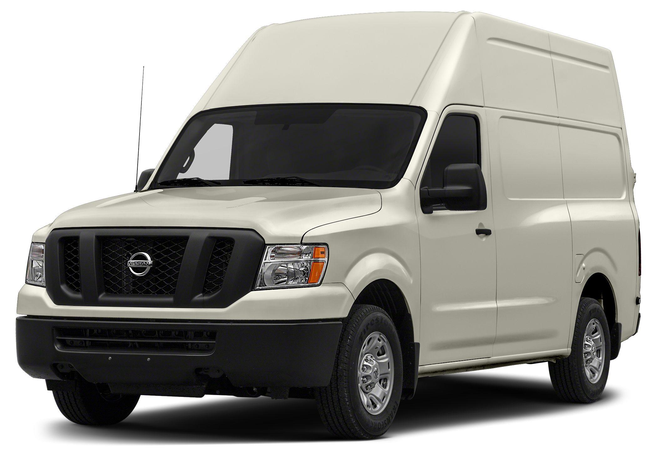 2015 Nissan NV2500 HD SV Cargo Color White Stock N22598 VIN 1N6AF0LYXFN804688