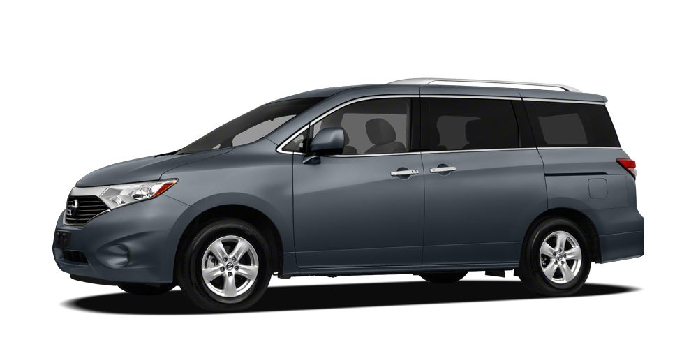 2012 Nissan Quest LE LE 35 V6 POWER WITH LEATHER AND MORE 45 POINT INSPECTION  60 DAY UNLIM