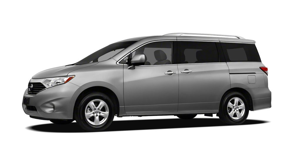 2012 Nissan Quest SV Miles 54138Color Brilliant Silver Stock 16P101A VIN JN8AE2KP1C9043018