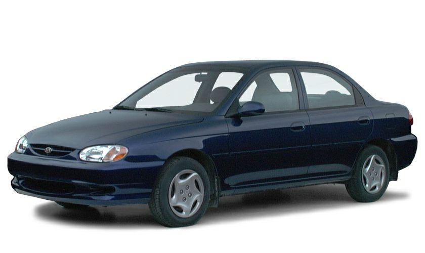 2000 Kia Sephia  Miles 119052Color White Stock K16642A VIN KNAFB1218Y5904366