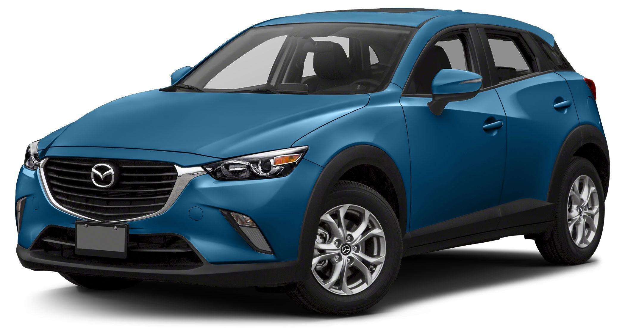 2016 Mazda CX-3 Touring Miles 10Color Dynamic Blue Mica Stock G0108309 VIN JM1DKBC76G0108309