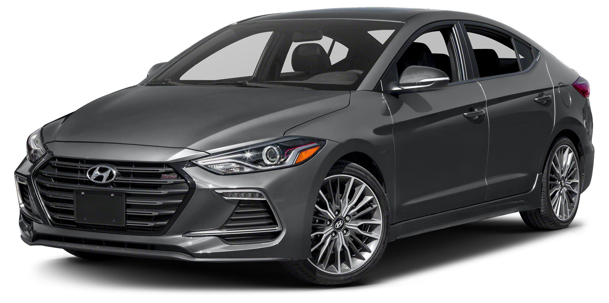 2017 Hyundai Elantra Sport 2017 Hyundai Elantra Sport 4-Wheel Disc Brakes 6 Speakers ABS brakes